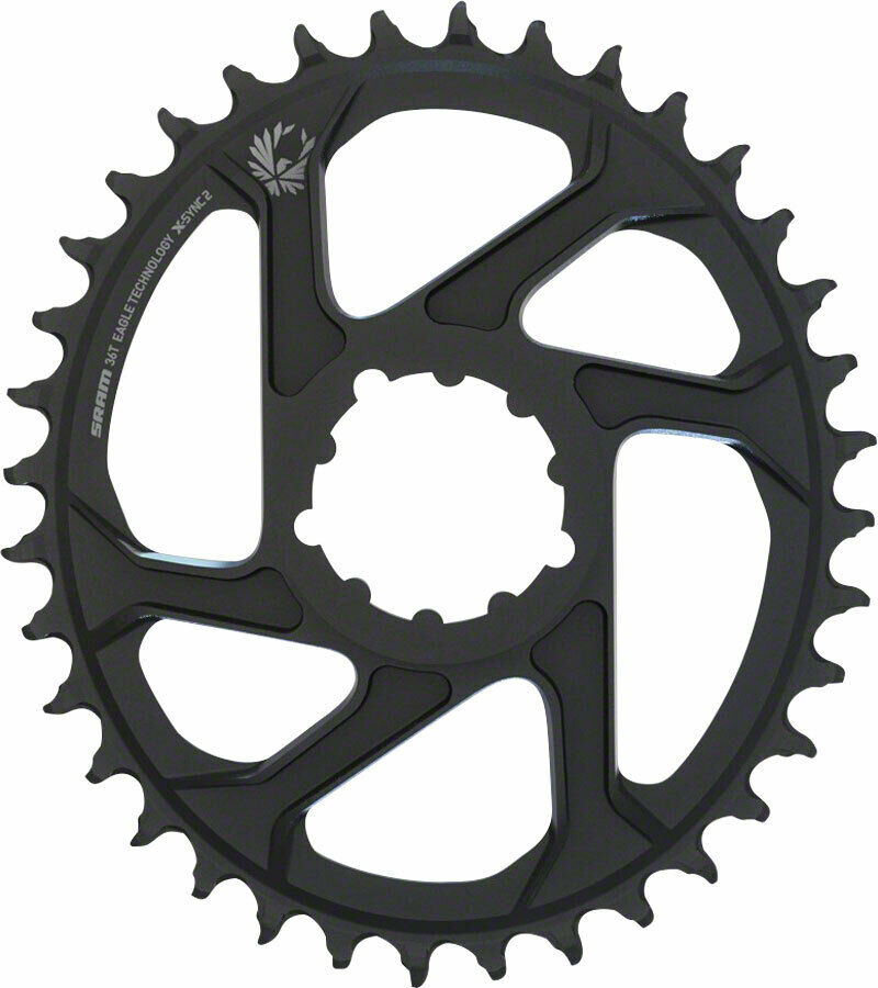 Coroa Sram XX1 Eagle Direct Mount Oval X-Sync 2 Offset 6mm 36 dentes